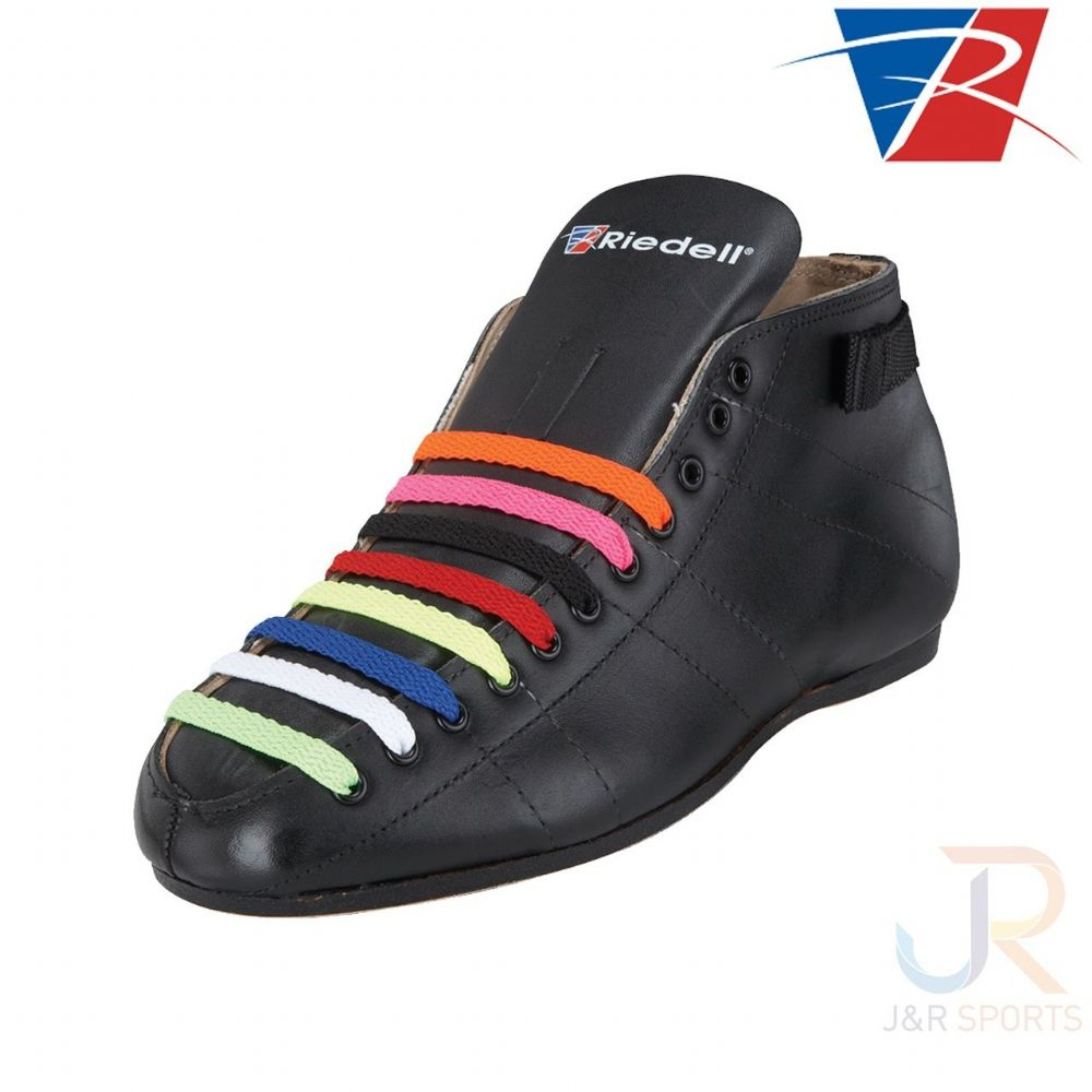 "Riedell 3/8"" Criss Cross Skinny Laces - (colours Available)"